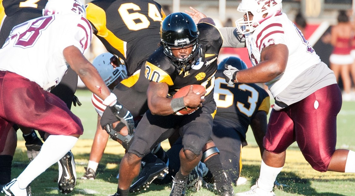 UAPB OUTLASTS MOREHOUSE COLLEGE, 29-27 IN THREE OVERTIMES