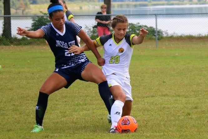 Uapb S Holmes Scores Two Goals In 3 1 Victory Over Jackson State In